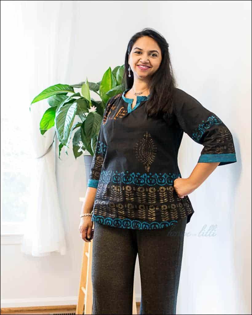 shorten rhapsody blouse