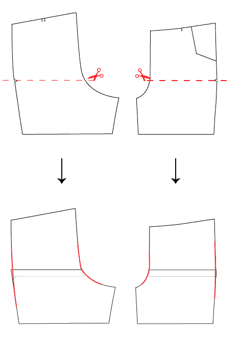 lengthen shorten pattern