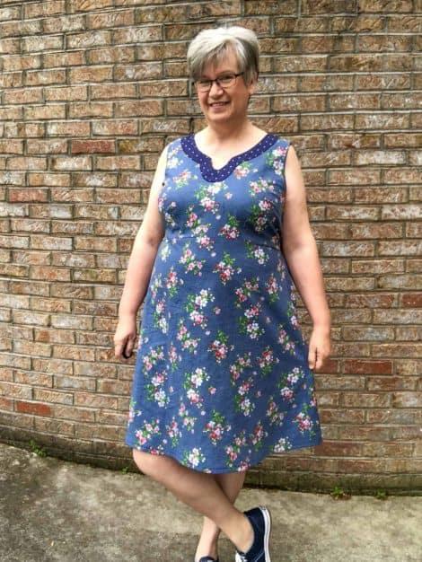 Sonata Dress sewing pattern