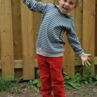 Love Notions Samson Sweater pdf Pattern for boys