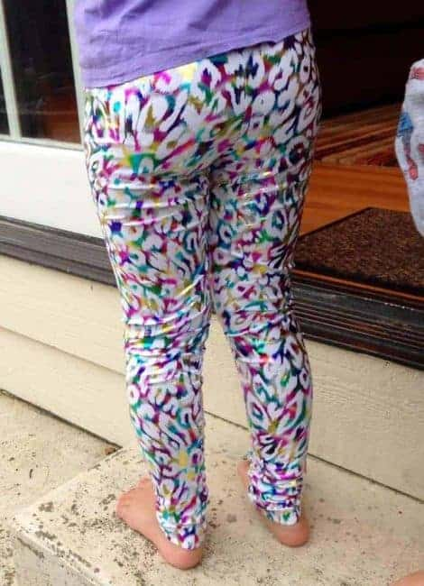 Love Notions Free Leggin's PDF Pattern