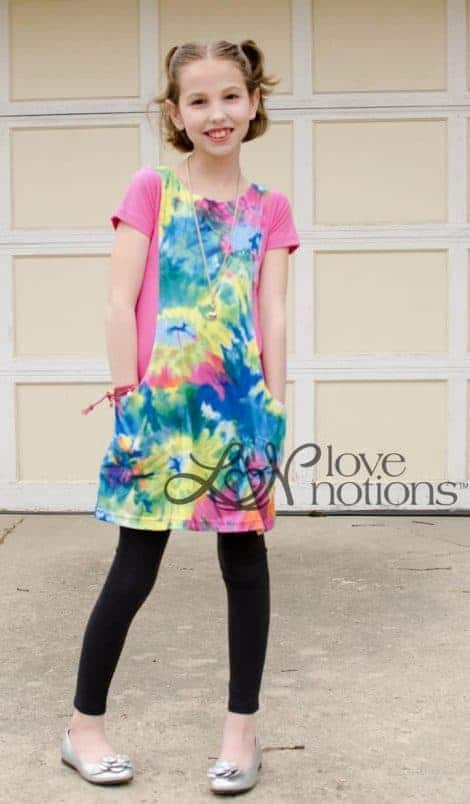 Love Notions Trendy Tunic PDF Pattern