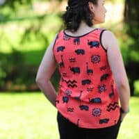 Ladies Hip-Hop Tank & Top