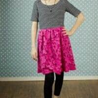 Bluezette Dress for Girls
