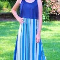 Posh Popover Top & Maxi Dress Pattern
