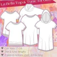 Girls La Bella Donna Top & Tunic