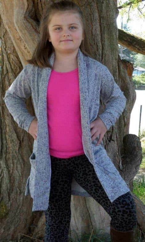 Love Notions Boyfriend Cardigan for Girls