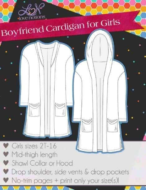 Love Notions Boyfriend Cardigan for Ladies
