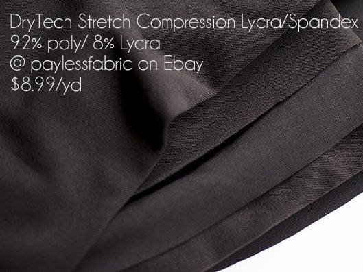 DryTech Compression Spandex