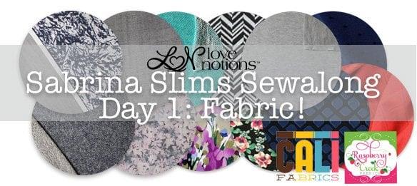 Sabrina Sewalong Day 1: Let's talk about fabric