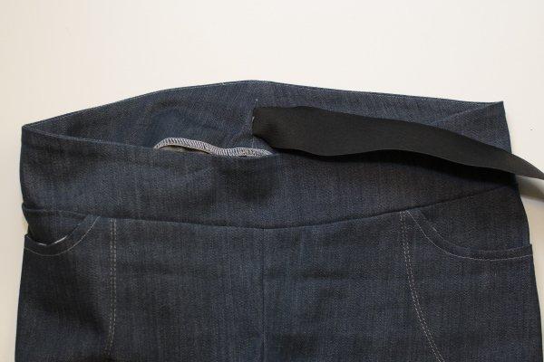 Sabrina Slims waistband step 8
