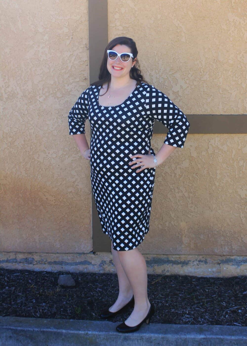 982a9094 Knit sheath dress sewing pattern. Print and download it today.