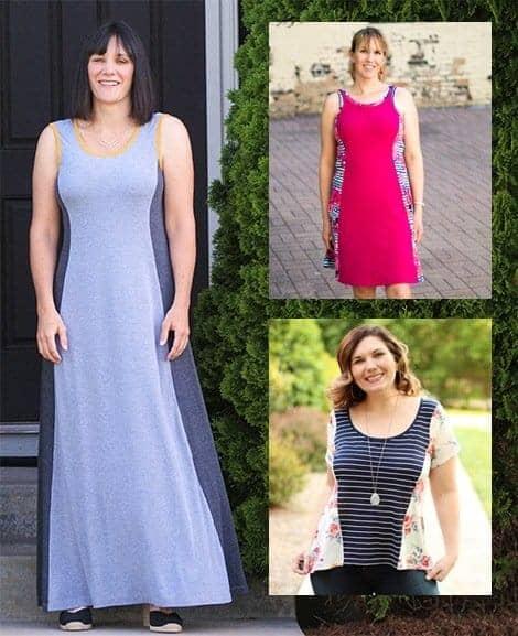 Ladies Tidal Top & Dress