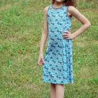 Girls Tidal knee length dress