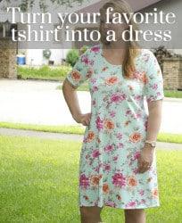LDT into a dress