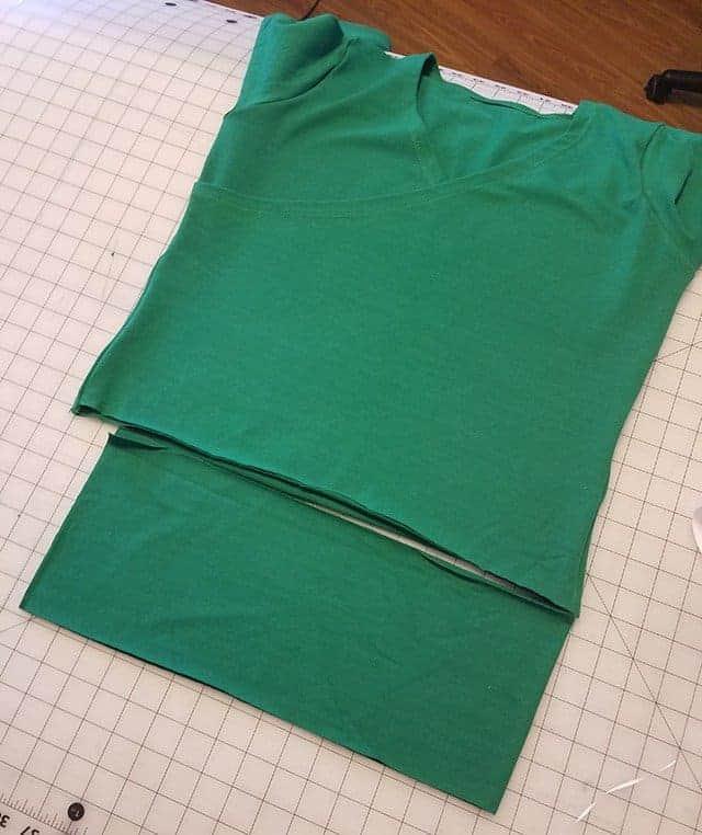 Willow Wrap pattern hack