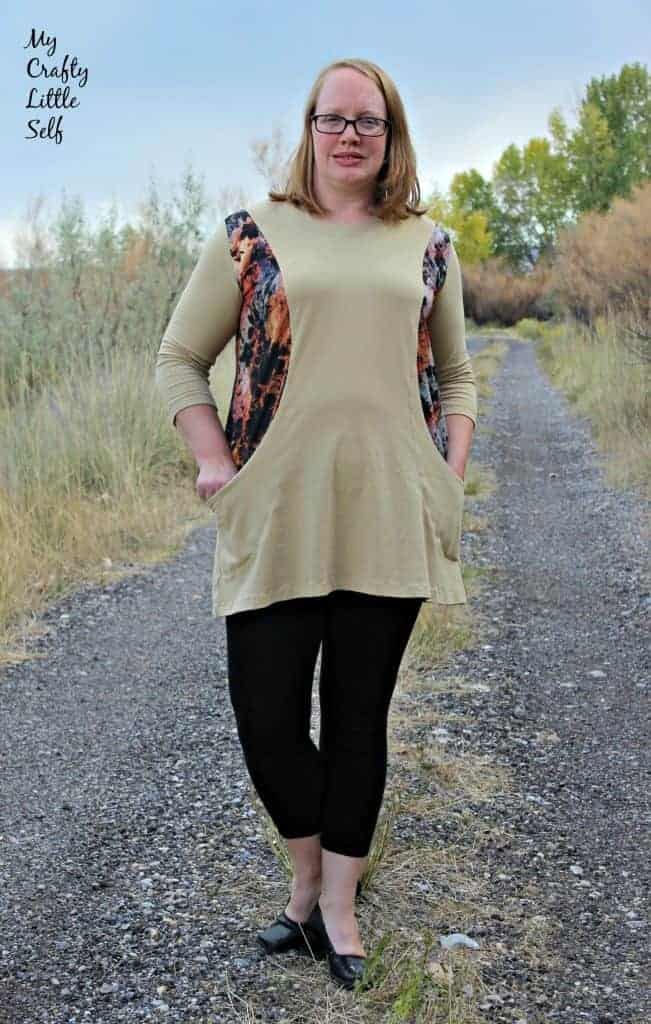 ladies tunic with sleeves