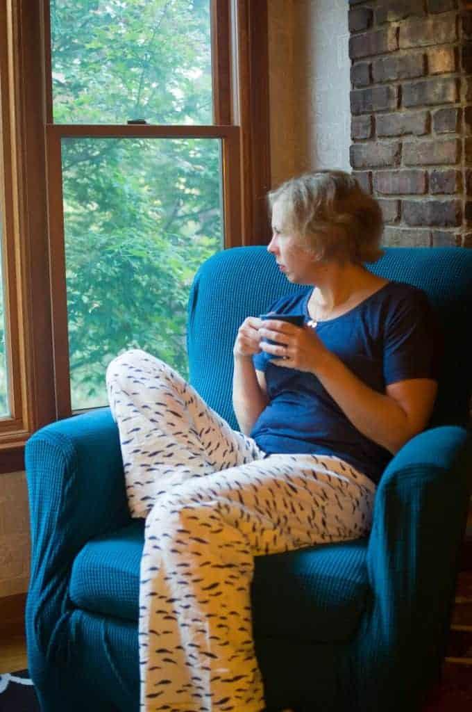 Winterized sleepwear pattern hacks