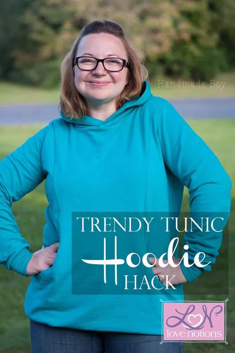 Trendy Tunic Hoodie hack