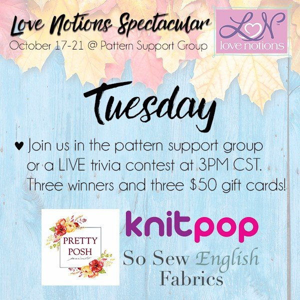 Love Notions Spectacular Tuesday