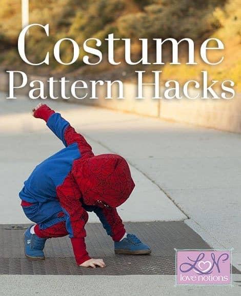 Love Notions costume pattern hacks