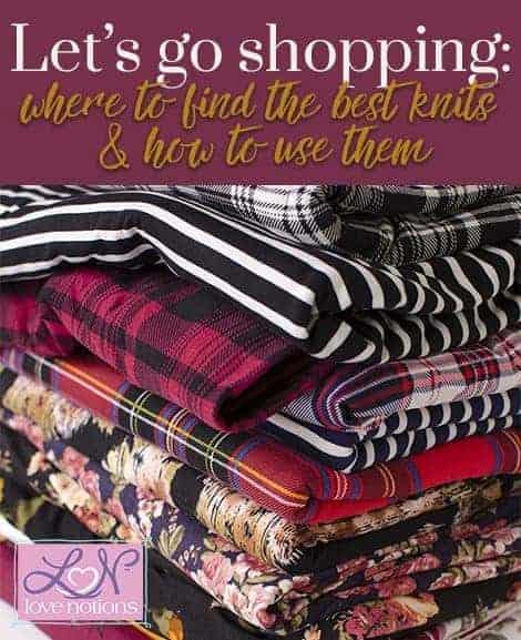 where to buy knit fabrics