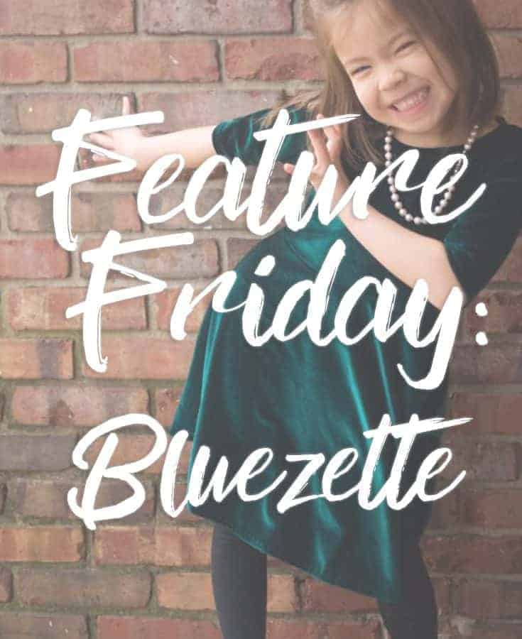 Feature Friday: Holiday Bluezettes + How to turn the add-on into a topper