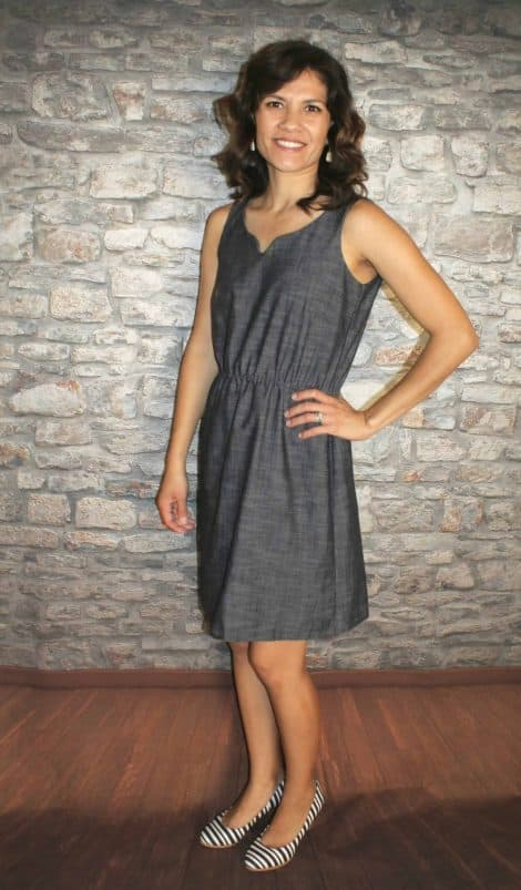 Knee length Cadence tank dress