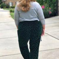 Straight leg pants pattern