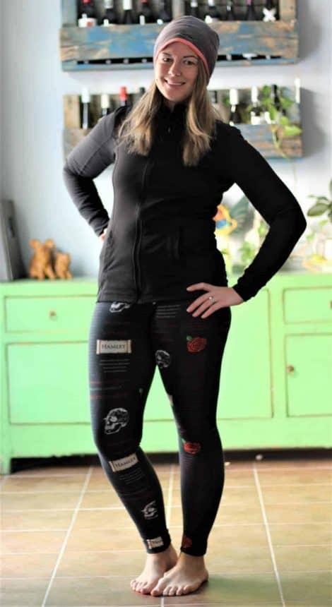 Resolution Bottoms plain leggings pdf pattern