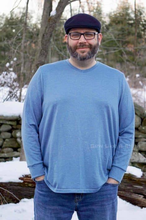 pdf sewing pattern men's t shirt