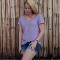 easy tee sewing pattern