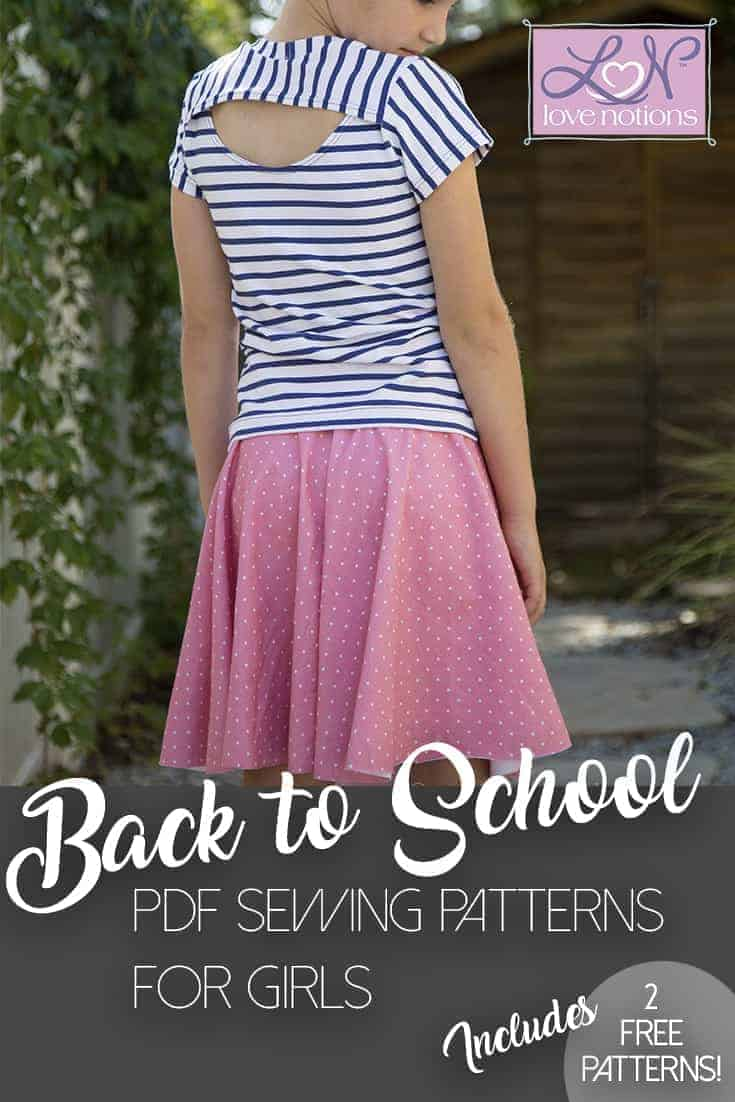 Back to School Sewing for Girls