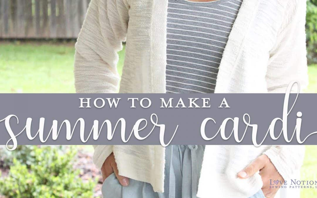 A Cardigan For Summer