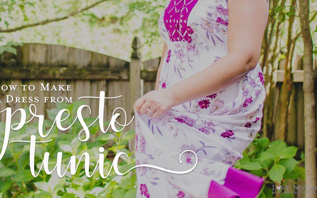 Dress Length Presto Tunic