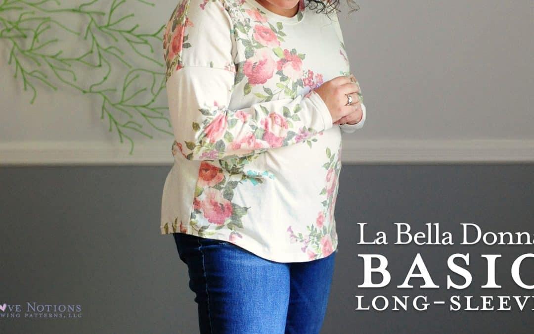Basic Long-Sleeve Hack for La Bella Donna