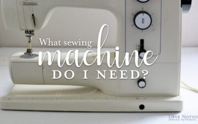 What sewing machine do I need?