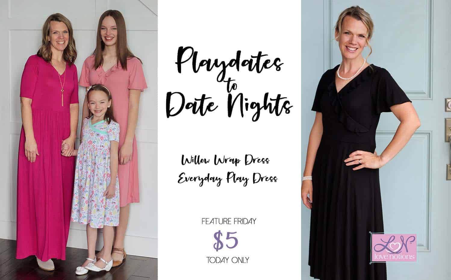 33d551039c3 Everyday Play Dress and Willow Wrap Dress  Playdates to Date Nights ...