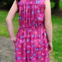 simple girls dress pattern