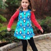 girls swing dress pattern