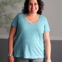 easy tshirt sewing pattern to download