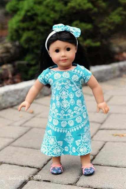doll swing dress pattern