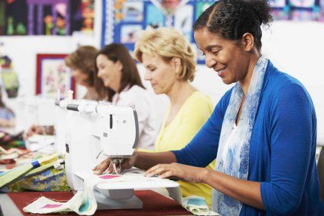 teaching sewing