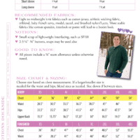 pdf sewing pattern for men's polo, henley and t shirt