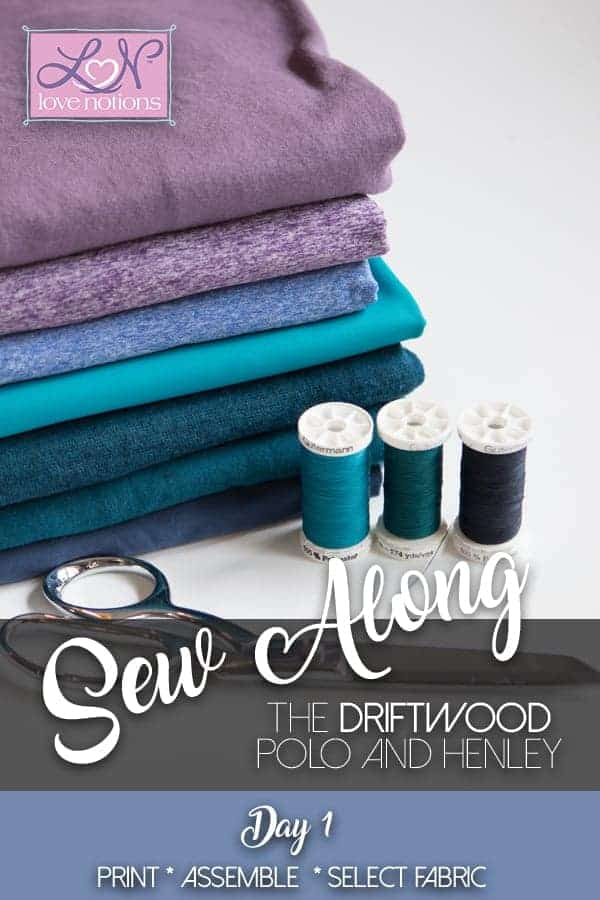 driftwood sew along
