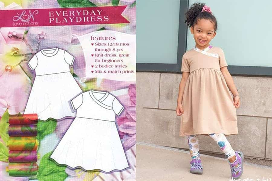 Playdress sewing pattern