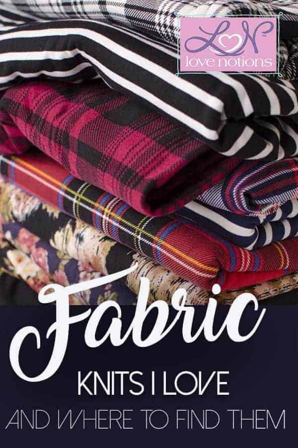 On-line knit fabric sources
