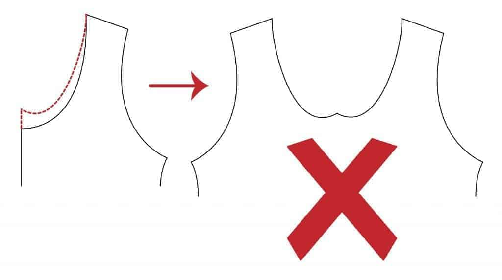 how not to raise a neckline