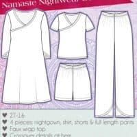 girls pajama sewing pattern