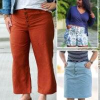 glissando crops shorts skirt